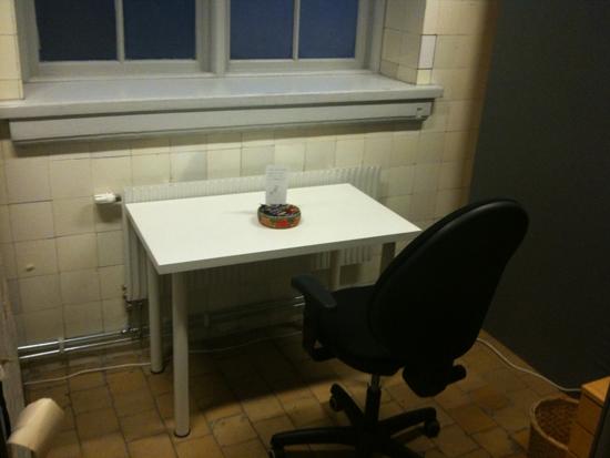 empty studio corner