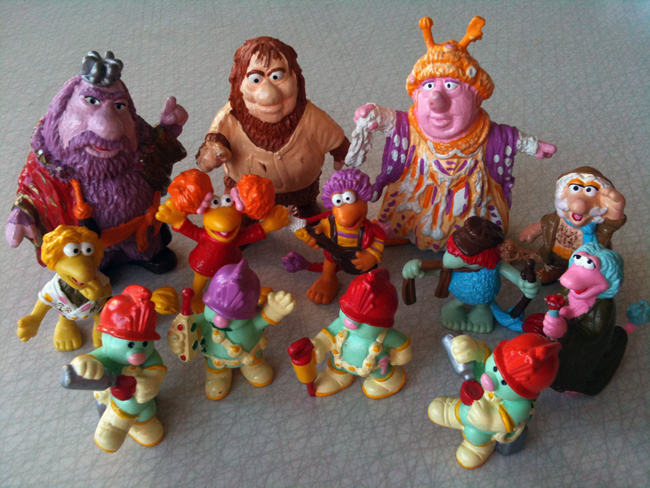 plastic fraggles